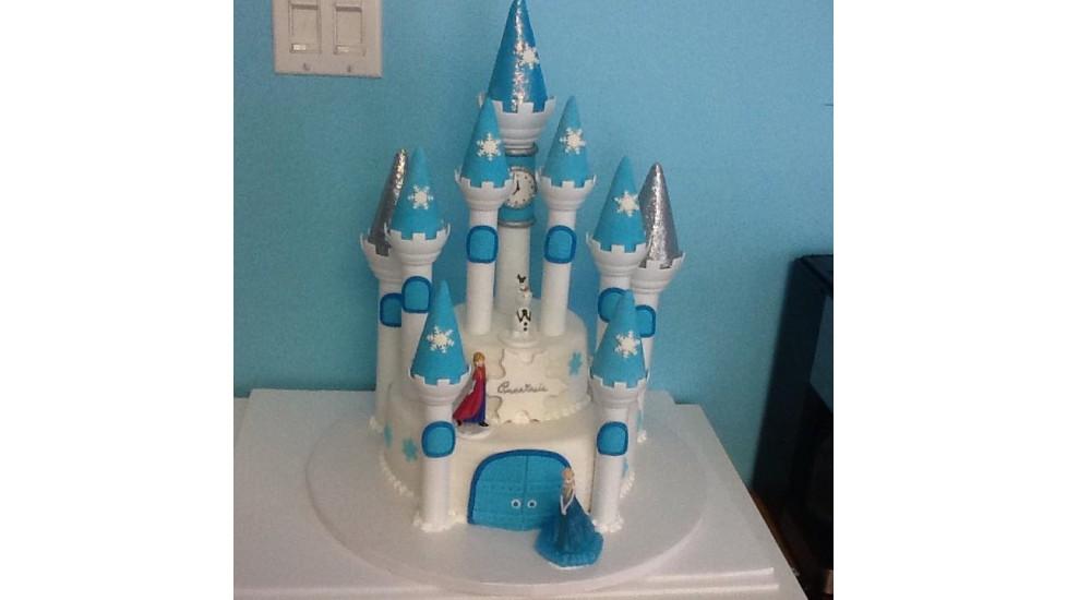 Gâteau chateau 3D