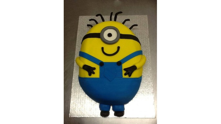 Gâteau Minion 2D