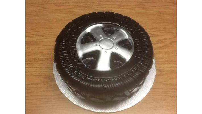 Gâteau pneu/mag