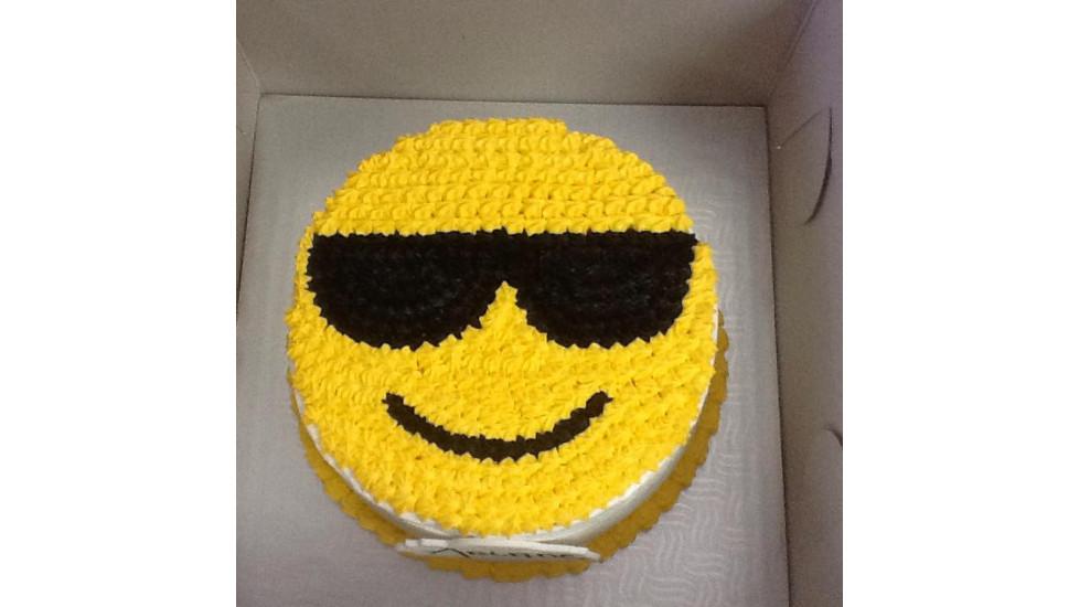 Gâteau Emoji