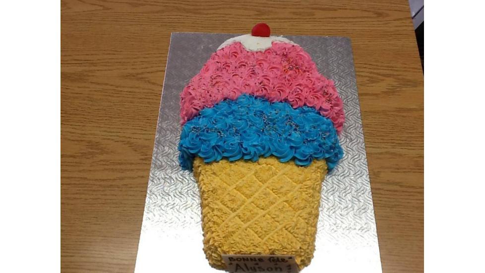 Gâteau cornet