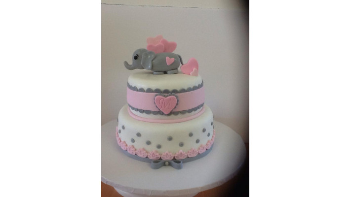 Gâteau bébé éléphant