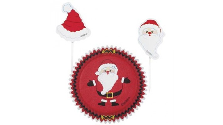Ensemble cupcakes Noel