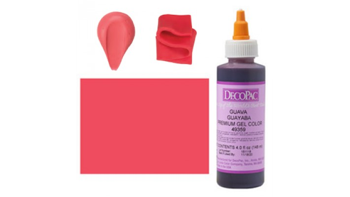 Colorant gel Décopac Goyave