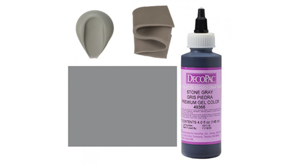 Colorant gel décopac gris