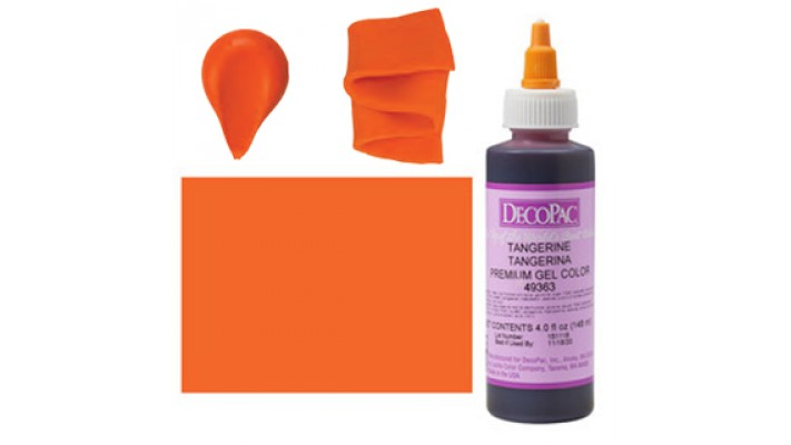 Colorant gel Décopac Tangerine